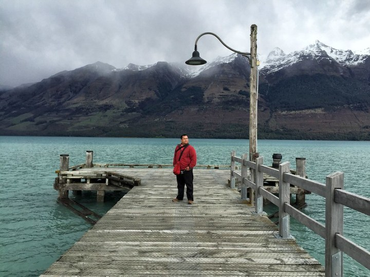 At the Glenorchy Jetty