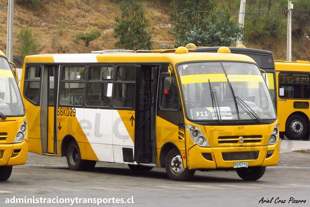 Transantiago F11 | STP Santiago | Caio Foz - Mercedes Benz / BBKD29