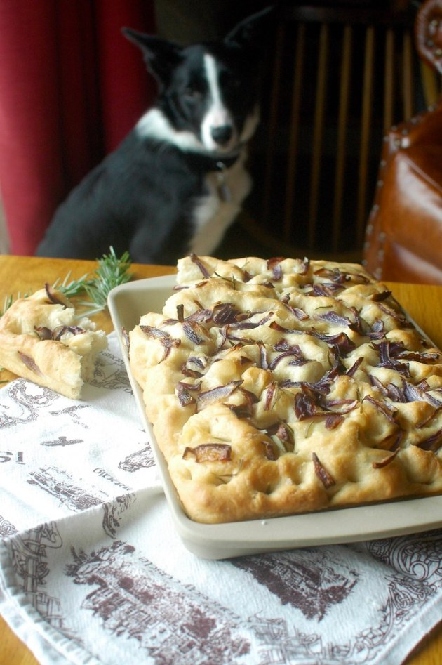 Red Onion & Rosemary Focaccia