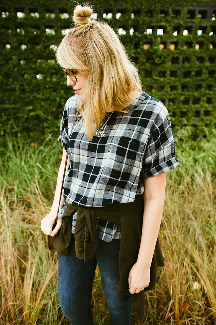 writes like a girl madewell emporia plaid shirt fall outfit10