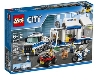 LEGO City Mobile Command Center (60139) box