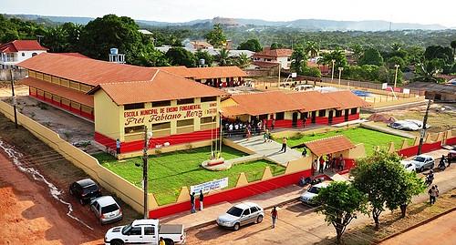 Leitor diz que governo do PT 'foi marco histórico' e vai avançar mais com Socorro, foto da escola frei fabiano, tempo integral, Santarém