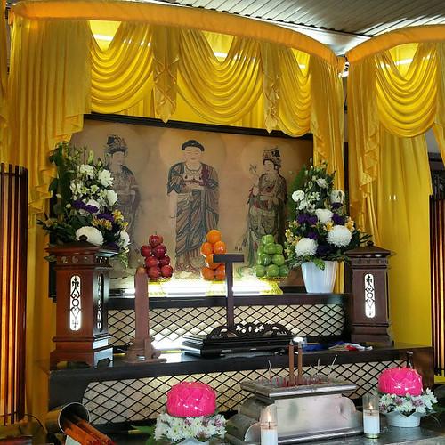 Hokkien Funeral Buddhist Altar