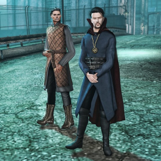Doctor Strange & Kaecilius in Second Life