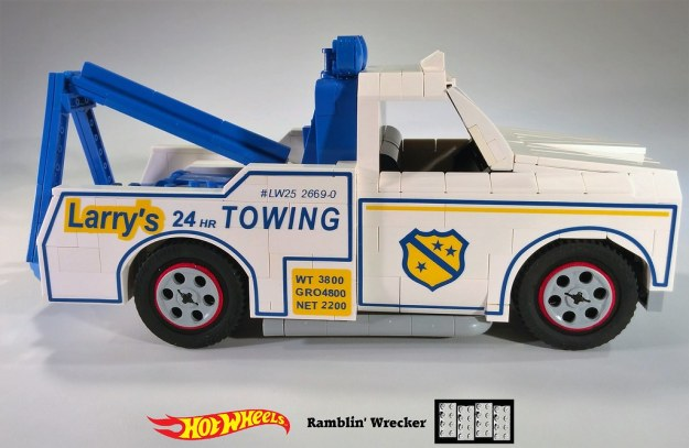 Ramblin' Wrecker Lego MOC 3 of 11