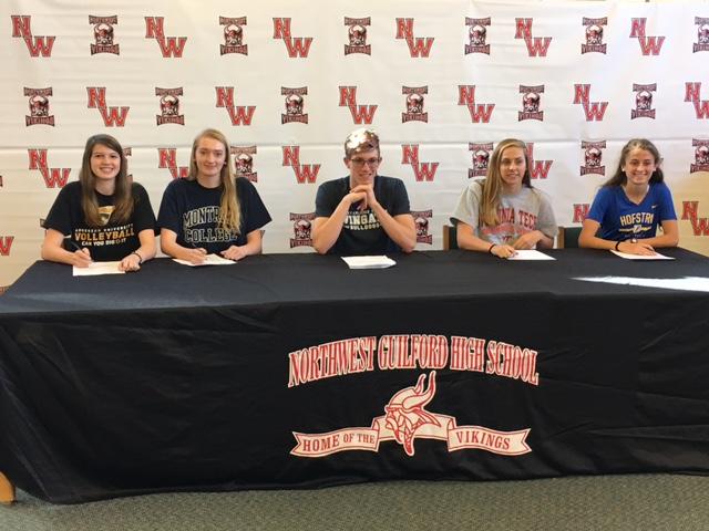 2016-11-09 Northwest Guilford Signing 2
