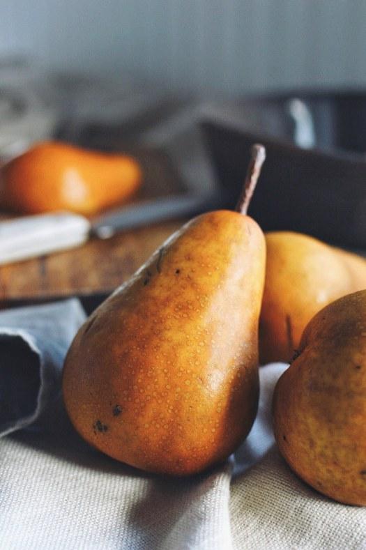 Almond Pear Crisp