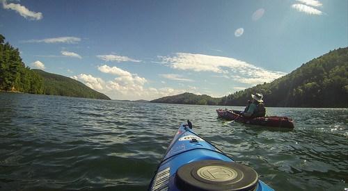 Lake Jocassee with Bennie Waddell-116
