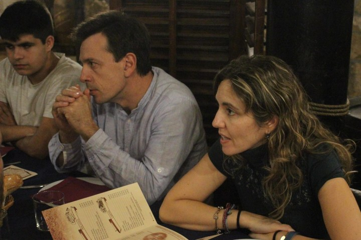 Koldo, Iñigo y Bea.