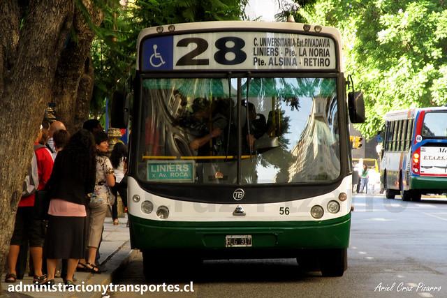 Buenos Aires 28 | Dota | Todobus Pompeya - Agrale / HLG317