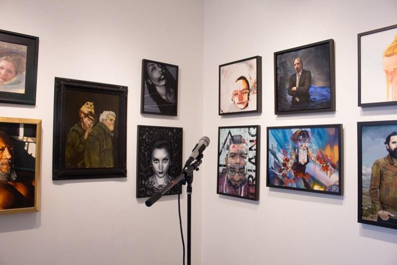Art, Readings, & Reactions: Portraits of Friends