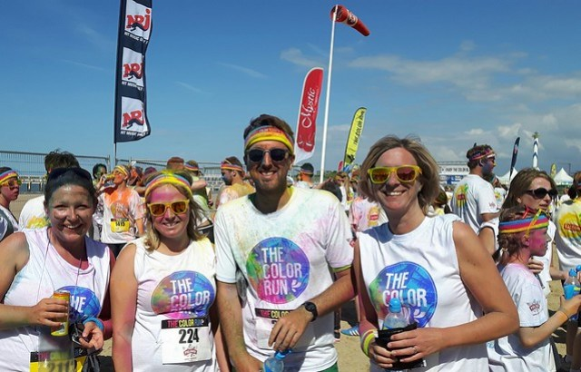 Color run Oostende 2016