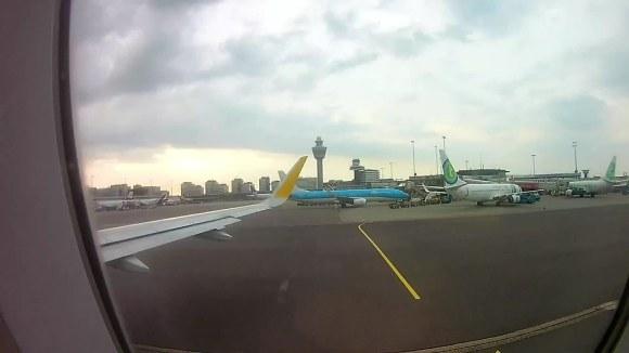 Despegando en Schiphol con Vueling