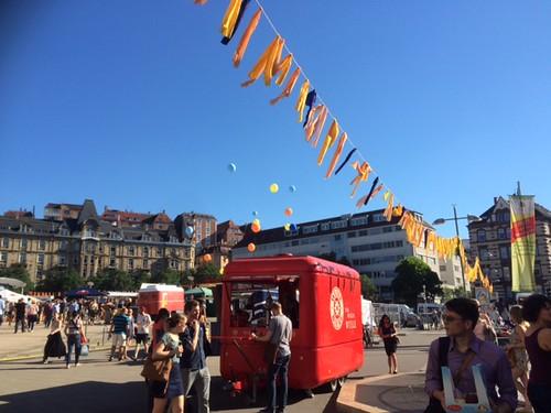 Marienplatzfest 2016 in Stuttgart