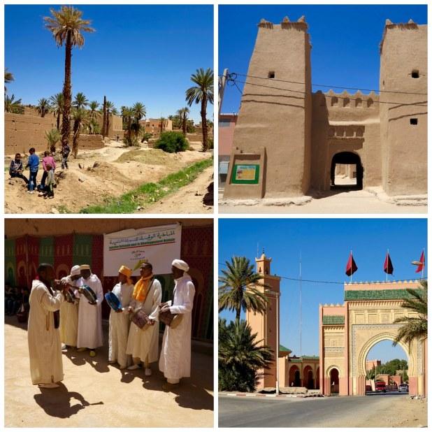 Camino al desierto Merzouga