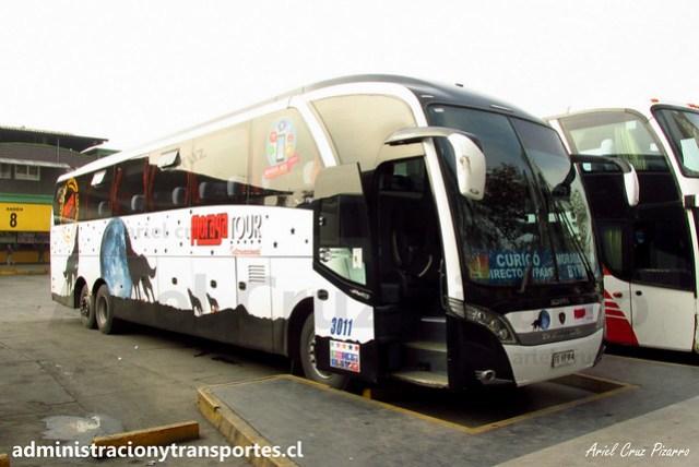 Moraga Tour | Santiago | Neobus New Road N10 380 - Scania / FSVF64 (3011)