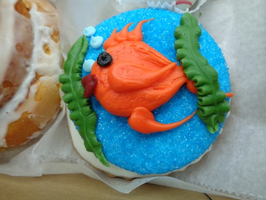 Fish Cookie from Three Brothers Bakery in Houston