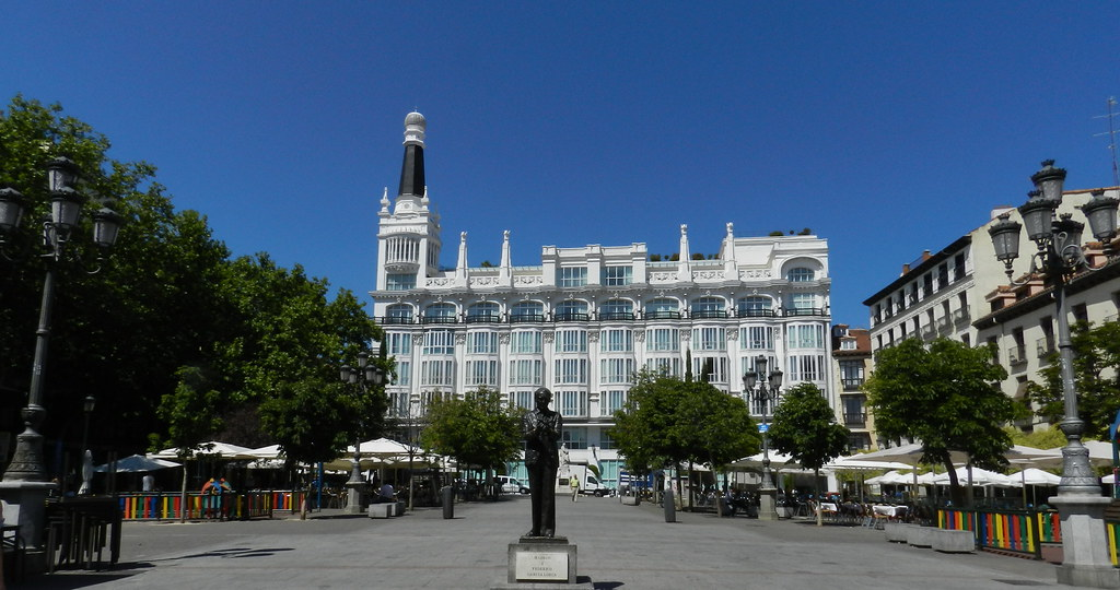 Madrid Plaza de Santa Ana Hotel Reina Victoria