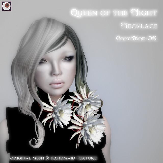 *NAMINOKE*QueenOfNight_NECK AD