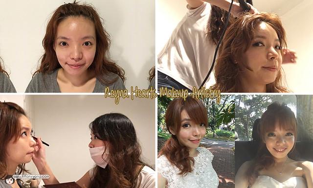 Reyna Hearts Makeup Tiffany Yong