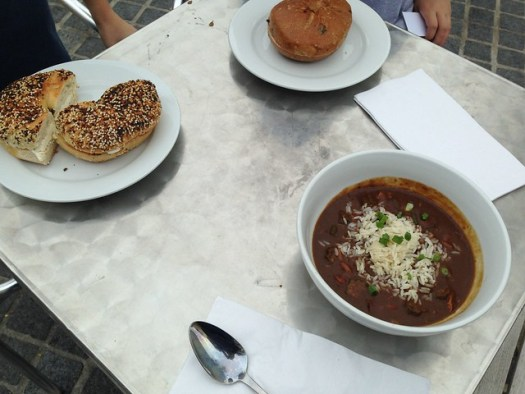 Gumbo, Bagel at St Roch Market
