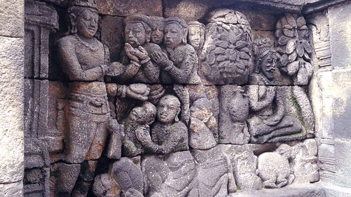 Borobodur High Bas Relief Carving