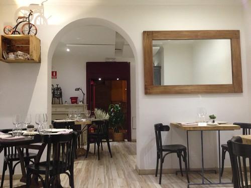 Restaurante TriCiclo, Barrio de Las Letras. Madrid
