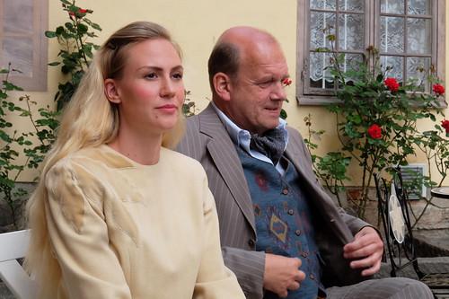 Jenny Silfvenius och Janne Gustavsson