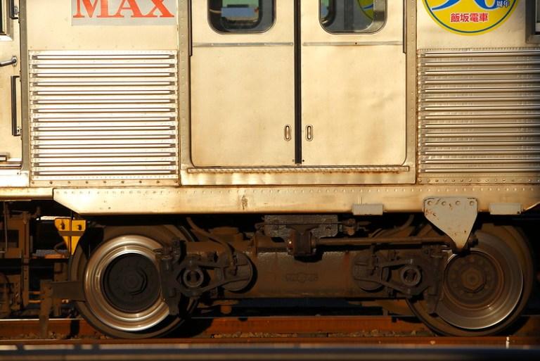 Iizaka-Line Series 7000 Pioneer III bogie