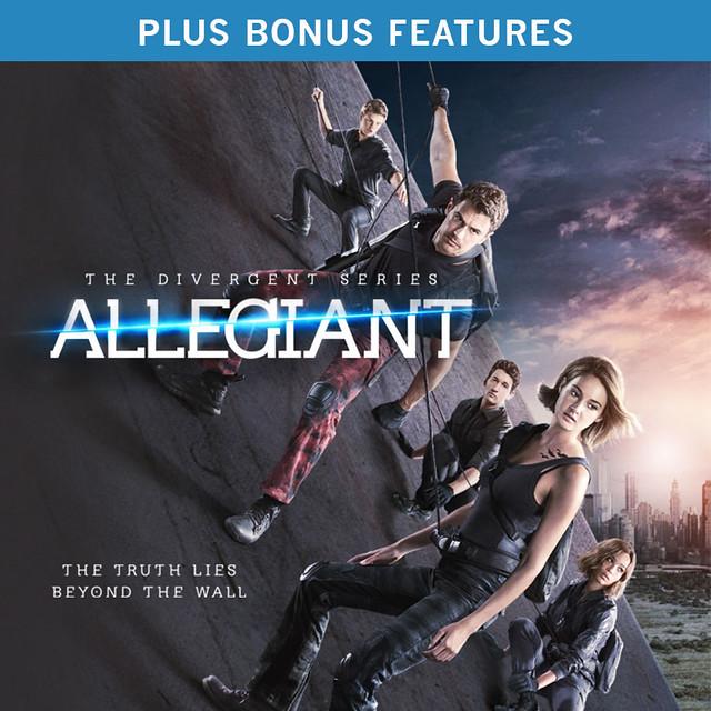 The Divergent Series: Allegiant (plus Bonus Features)