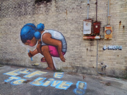 Seth Globepainter in Baton Rouge