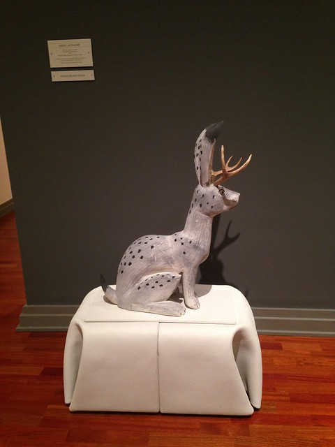Alonzo Jiminez, Seated Jackalope