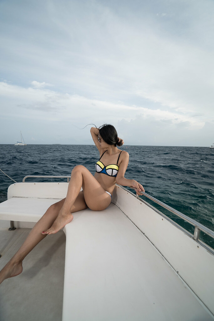 Why you need a Color block swimwear