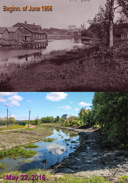 1906 нач июня река вакко на зад плане лицей и лют церкв - 22 мая 2016 dates