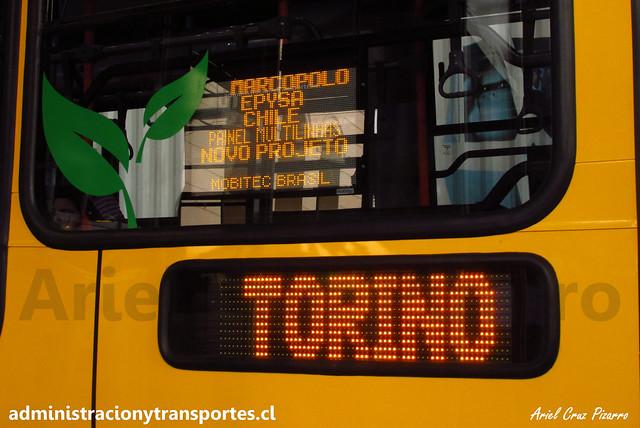 TransUrbano 2016 | Marcopolo Torino 2014 - Mercedes Benz OC500 LE