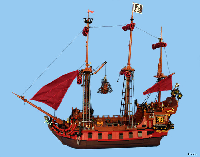 LEGO Bateau pirate La Saignante