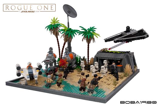 Star Wars Rogue One L Attaque Des Microfighters
