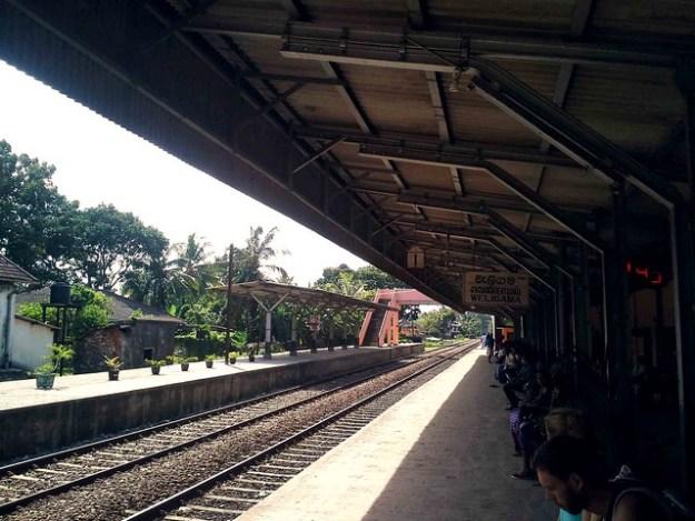 Weligama Train Station