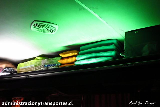 Buses Liquiñe | Frazadas y Almohadas