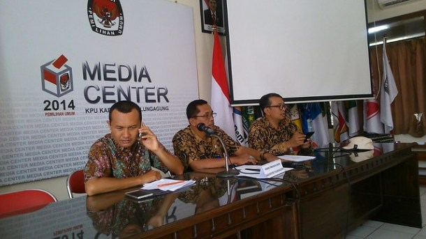 Rapat Khusus Tim PPID KPU Kabupaten Tulungagung (31/8)