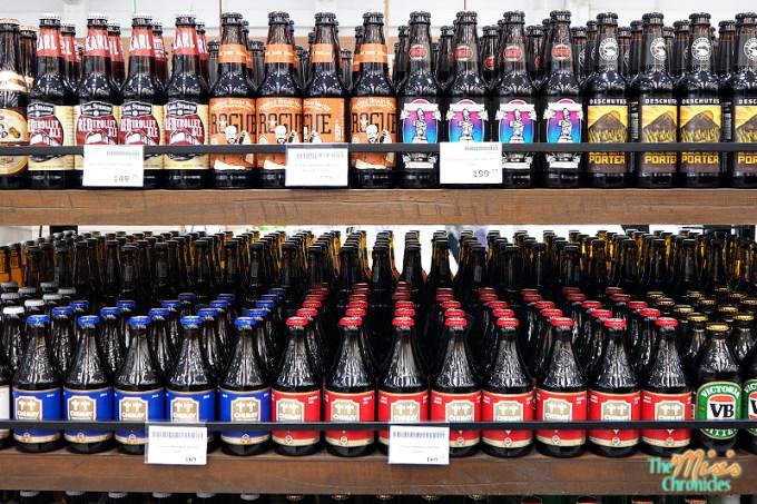craft beers inside Landers Superstore
