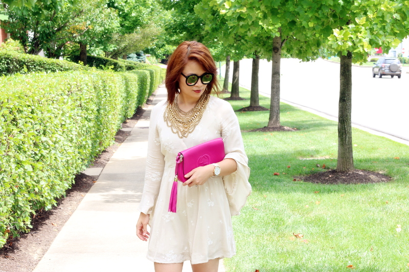 free-people-dress-gucci-bag-karen-walker-sunglasses-1