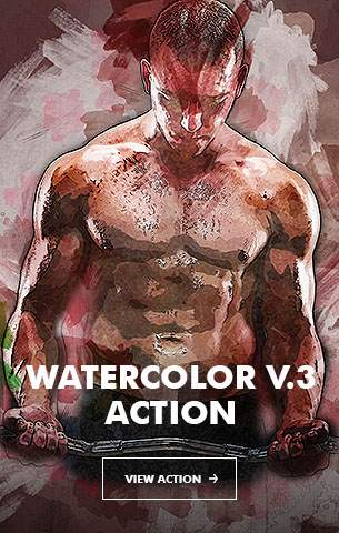 Watercolor V.5 Photoshop Action - 86