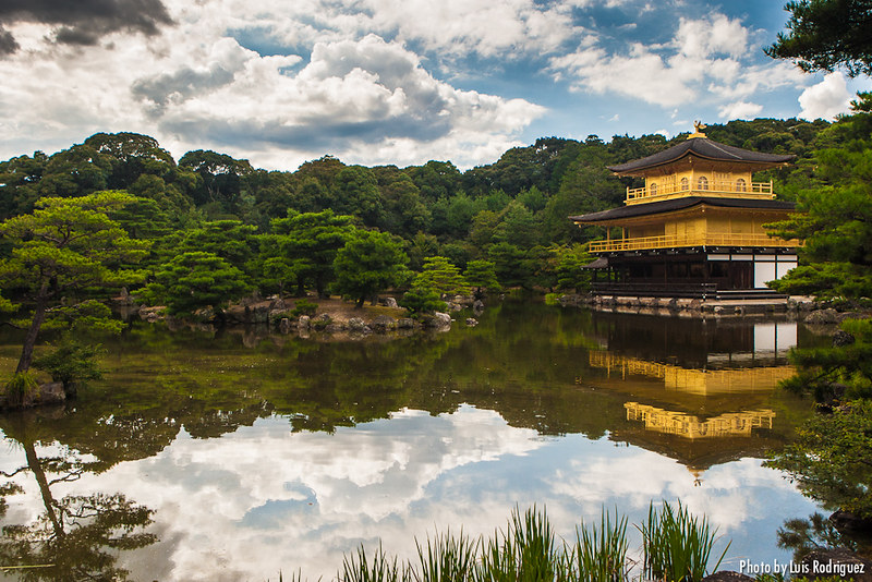 Templo Kinkakuji de Kioto