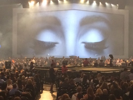 Adele's stage