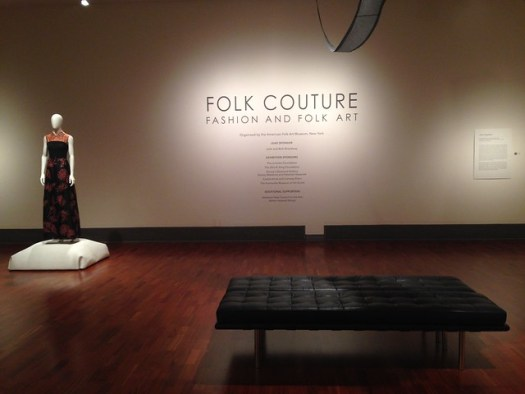 Folk Couture Exhibit at Huntsville Museum of Art