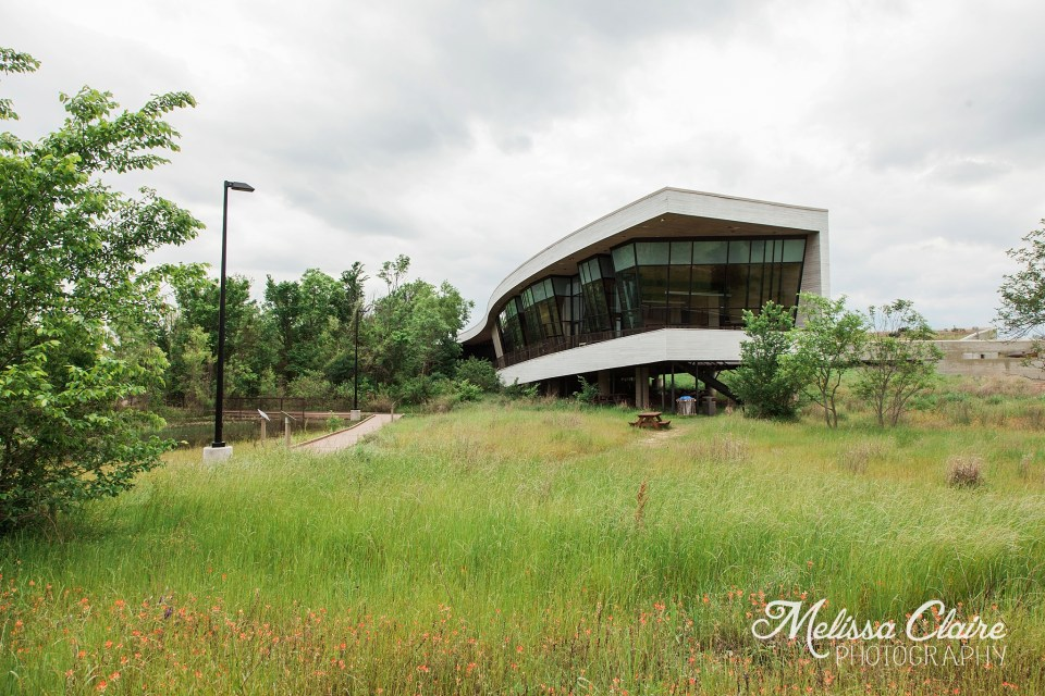 Trinity River Audubon Center Wedding