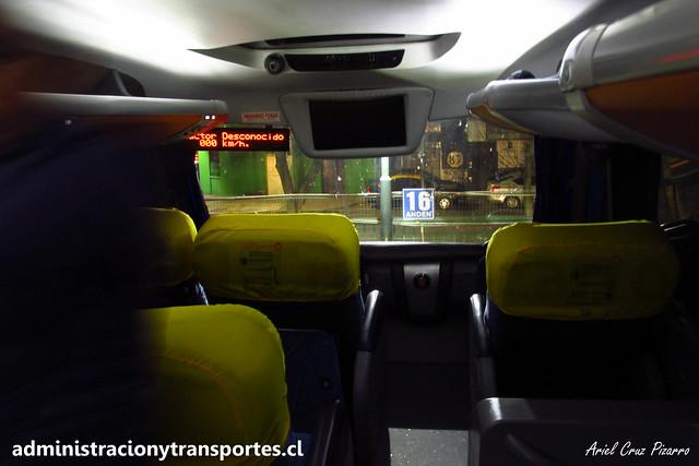 Transantin | Salón Cama | Marcopolo Paradiso 1800 DD - Volvo / FWXW38