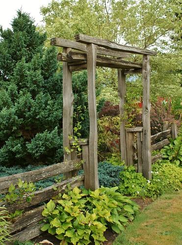 Wooden Entry Gate Karl Gercens Flickr