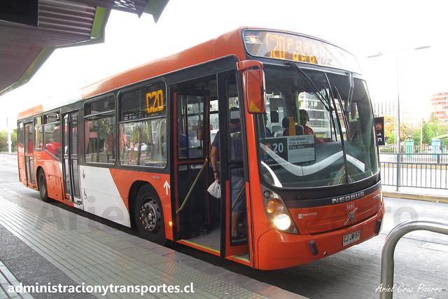 Transantiago C20 | Redbus | Neobus Mega - Volvo B7R LE / CJJW57 - 291